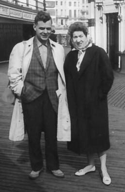 Vintage image of Melton Foundation Couple. The Melton Foundation history.